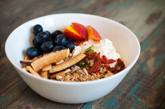 Healthy Breakfast Muesli Stock Images