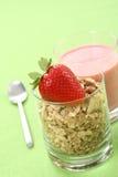 Healthy breakfast - musli Royalty Free Stock Photo