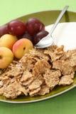 Healthy breakfast - musli and fruits Royalty Free Stock Photos