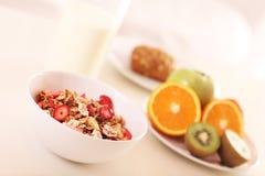 Healthy Breakfast Musli Stock Images