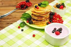Healthy breakfast Stock Image