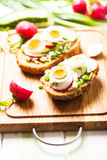 The Healthy breakfast Royalty Free Stock Photography