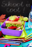 Healthy breakfast for school Royalty Free Stock Photography