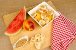 Healthy breakfast sttill life Stock Photo