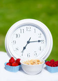 Healthy breakfast time Stock Images