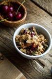 Healthy breakfast variety royalty free stock photography
