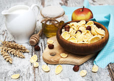 Healthy breakfasts Royalty Free Stock Photography
