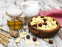 Healthy breakfasts Stock Images