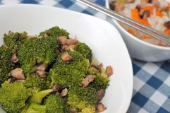 Healthy broccoli delicacy Stock Photos