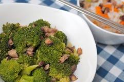 Healthy broccoli delicacy Stock Photos