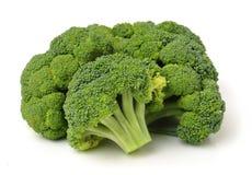 Healthy brocoli. On white background royalty free stock image