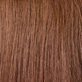 Healthy brown hair. Closeup of human blond hair stock images