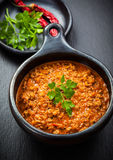 Healthy Cabbage soup Stock Photo