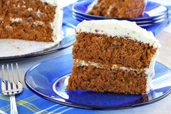 Healthy Carrot Cake Stock Photos