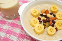 Healthy Cereal And Soya Bean Milk Royalty Free Stock Images