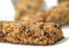 Healthy cereal bar Royalty Free Stock Images