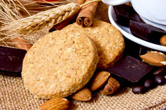 Grain Biscuits Stock Photo