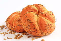 Healthy cereal bread with sunflower seeds Stock Image