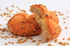 Healthy cereal bread with sunflower seeds Stock Photo