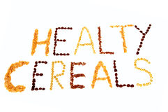 Healthy cereals Stock Photography
