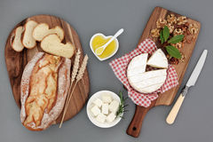 Healthy Cheese Snack Royalty Free Stock Photography