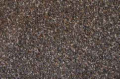 Healthy Chia seed background. Close up background of Chia seeds Royalty Free Stock Photos