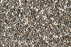 Healthy chia seeds Royalty Free Stock Photo