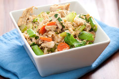 Healthy chicken stir fry Royalty Free Stock Image