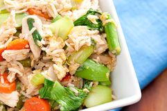 Healthy chicken stir fry Royalty Free Stock Photography