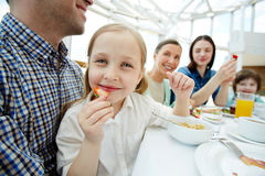 Healthy child Stock Image