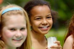 Healthy children Stock Images