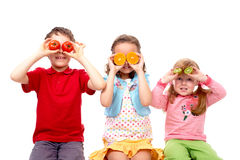Healthy children Stock Photography