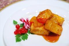Healthy, Chinese vegetarian main dish Stock Photos