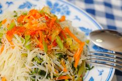 Healthy Chinese vermicelli Royalty Free Stock Photos