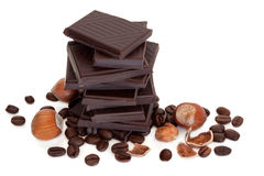 Healthy Chocolate Royalty Free Stock Photos