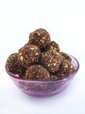 Healthy Chocolate truffles Royalty Free Stock Images