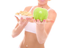 Healthy choice Stock Photography