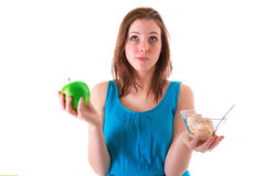 Healthy choice Royalty Free Stock Photography