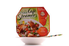 Healthy Choice Cafe Steamers Stock Image