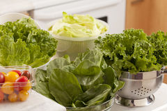 Healthy choices Stock Images