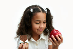 Healthy Choices Royalty Free Stock Image
