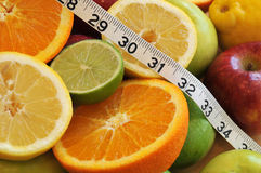 Healthy Choices for weight-loss Royalty Free Stock Images