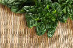 Healthy Choy Ready for Cooking Stock Photo