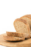 Healthy chrono bread isolated over white background.  Stock Image