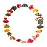 Healthy antioxidants Stock Image