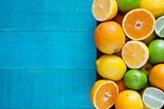 Healthy Citrus Fruits Royalty Free Stock Images