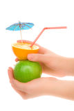 Healthy cocktail Stock Image