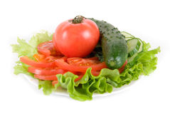 Healthy combination Royalty Free Stock Photography