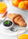 Healthy Continental breakfast Stock Photography