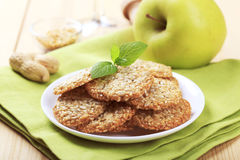 Healthy cookies Stock Photos